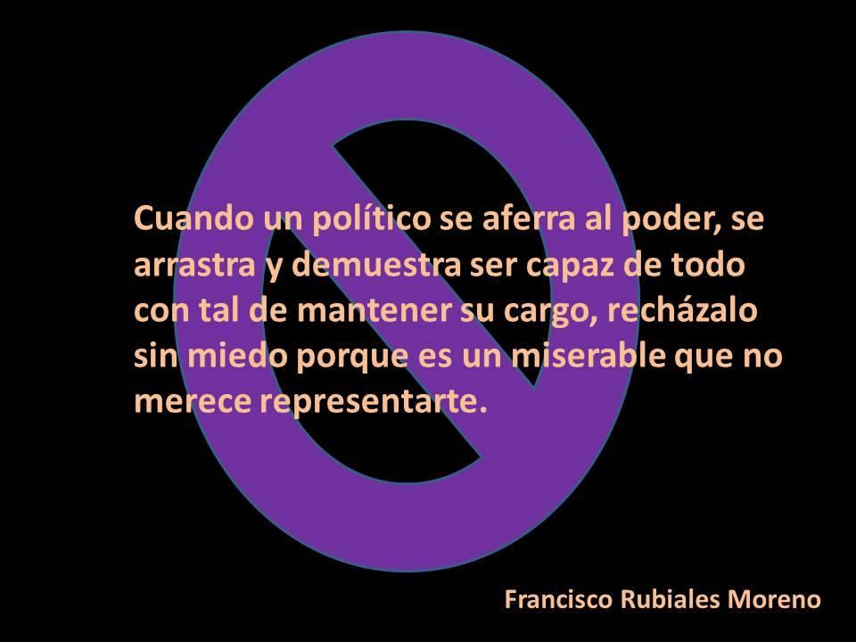 El sistema político español está colapsado y muerto