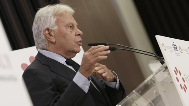 La denuncia de Felipe González: España no tiene peso en el mundo