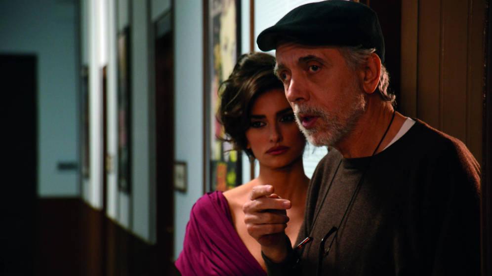 Trueba y Penélope Cruz