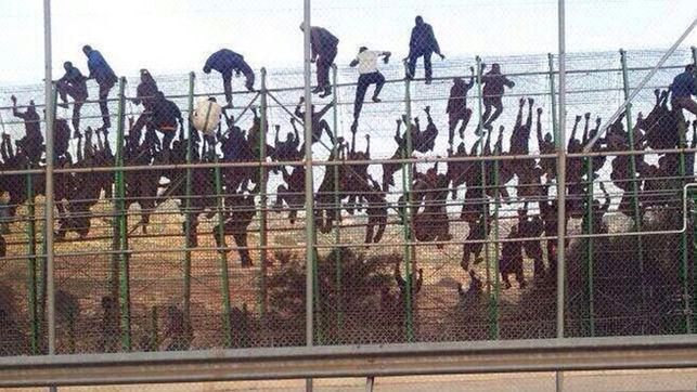 Asalto a la valla de Melilla