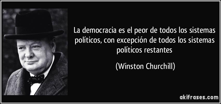 La democracia ya no es el mejor de los sistemas
