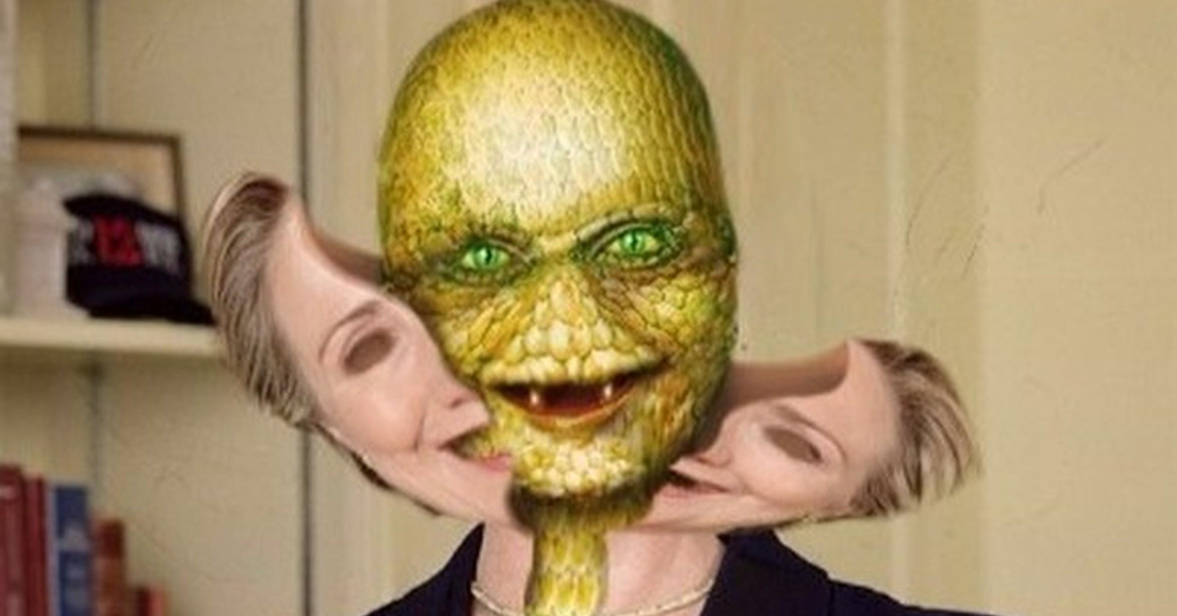 ¿Cree usted que algunos de nuestros políticos son alienígenas disfrazados?