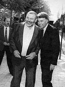 Felipe González y Jacinto Pellón, su hombre de confianza en Expo 92