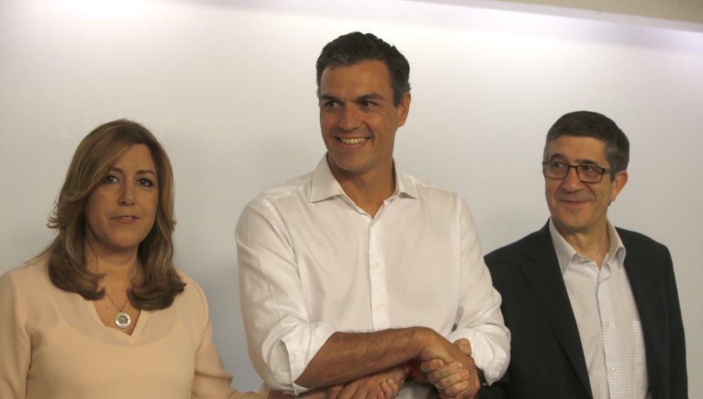 Los rostros hablan: Pedro exultante y Susana humillada