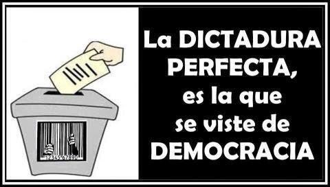 La falsa democracia se ha adueñado del mundo