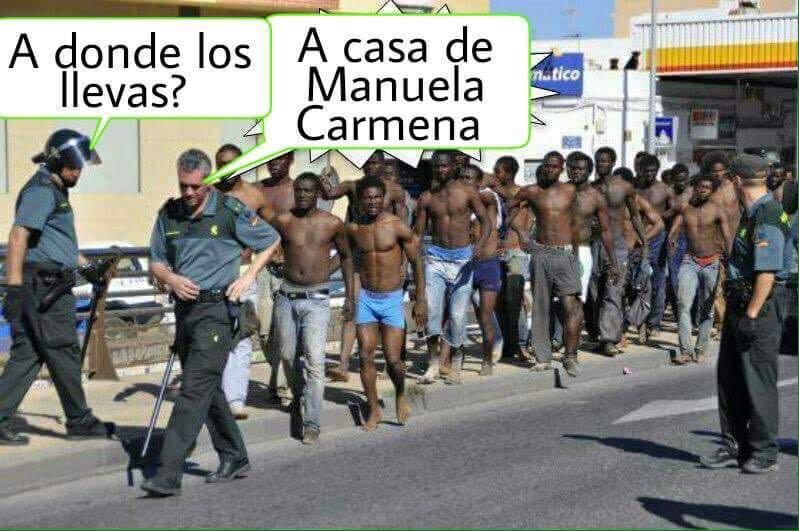 El mal y el terror están en el Islam y en los políticos españoles