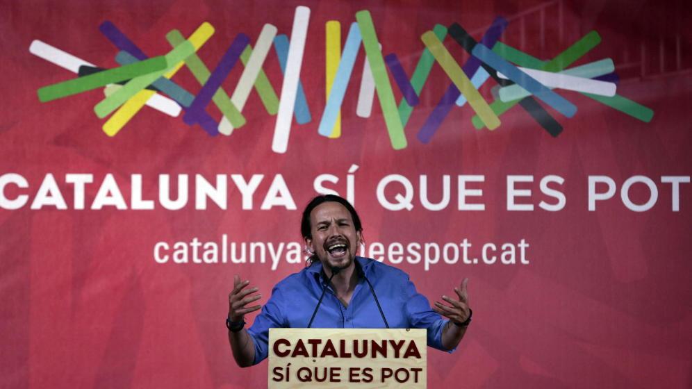 Unidos Podemos y su líder, Coleta Morada, saldrán trasquilados de Cataluña