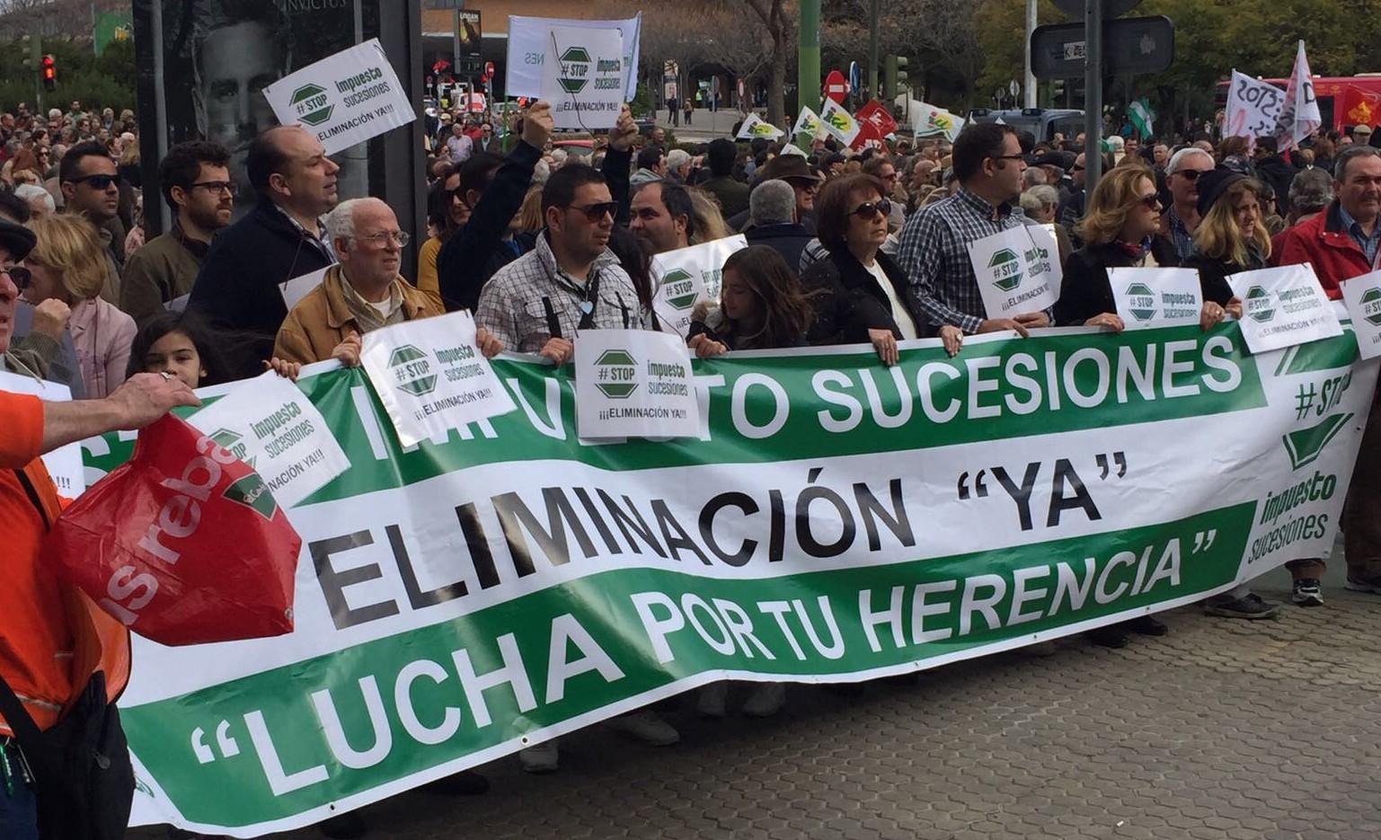 La lucha ciudadana contra el Impuesto de Sucesiones, un modelo para regenerar España