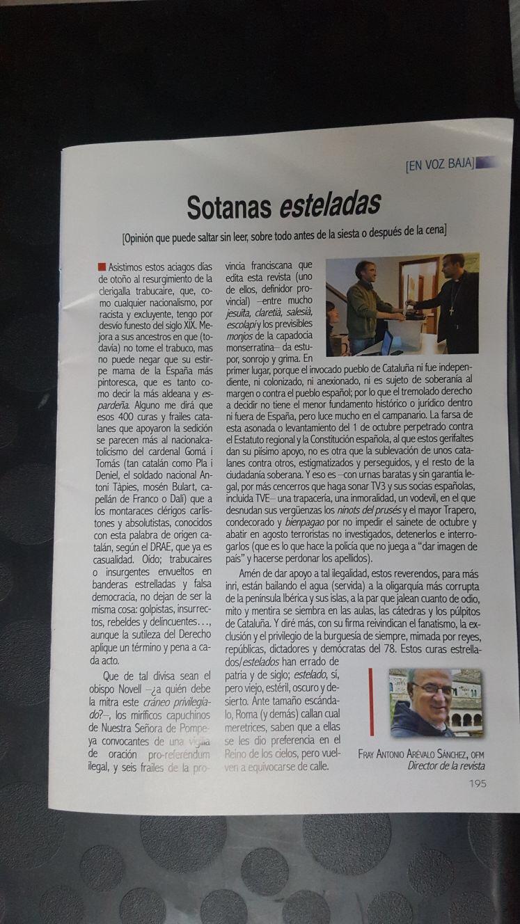El inmenso y doloroso fracaso de la Iglesia española