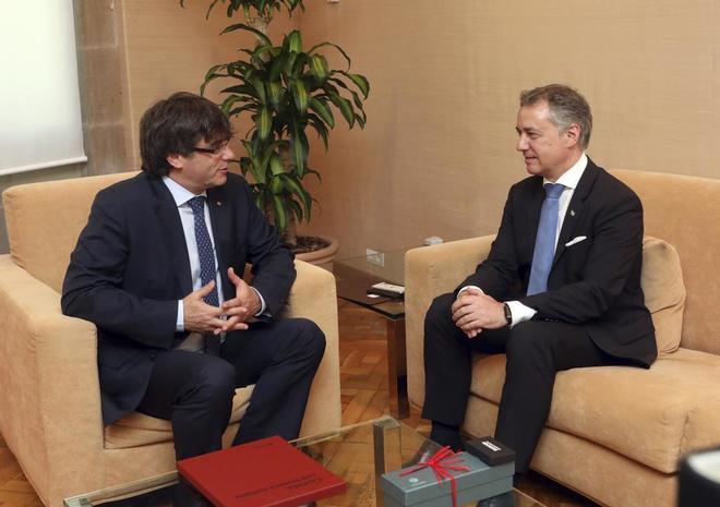 Urkullu y Puigdemont: el triunfo del chantaje independentista