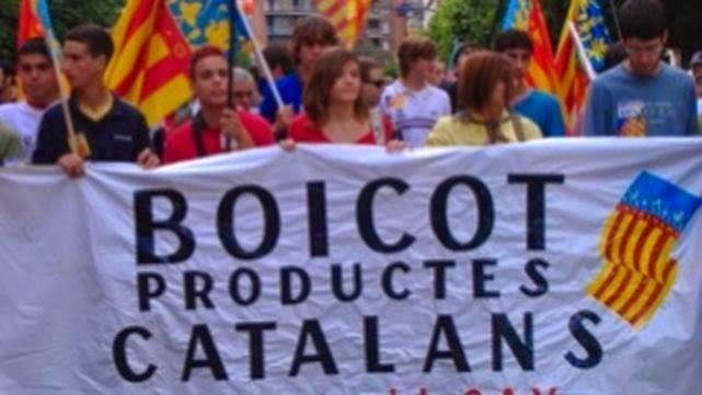 El boicot empezó en Cataluña, contra productos españoles, pero hoy crece en todo el país, en ambos bandos.