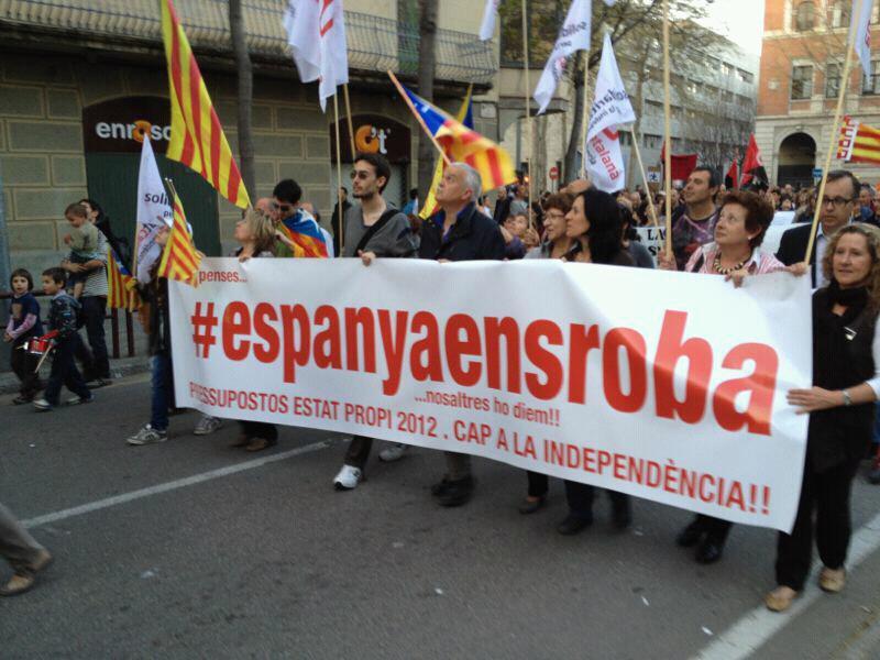 España no quiere seguir siendo la colonia de Cataluña