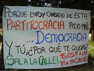 ESPAÑA, EL PAÍS CAMPEÓN MUNDIAL EN PARTITOCRACIA