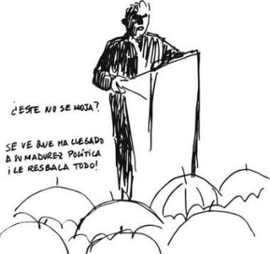 UNA DEMOCRACIA PARA BENEFICIO EXCLUSIVO DE LOS POLÍTICOS
