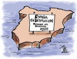La destrucción de España está en marcha