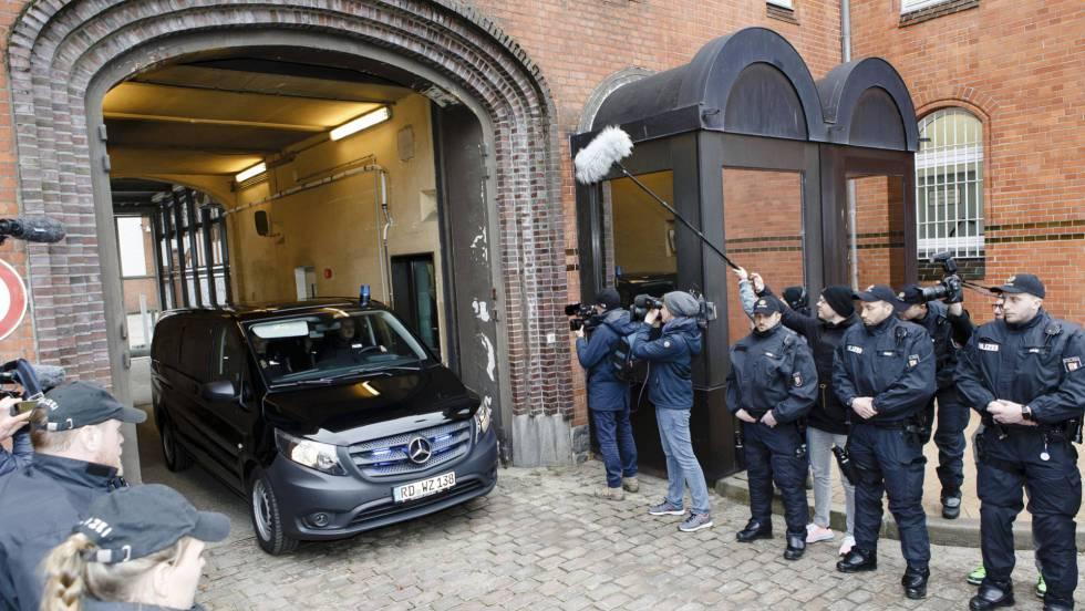 Prisión de Neumünster donde se encuentra encarcelado Puigdemont.