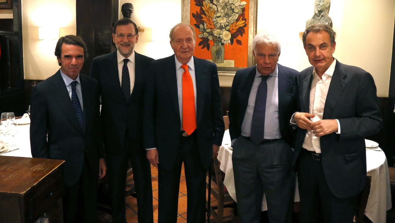 Los responsables del abuso nacionalista en España se reúnen para cenar