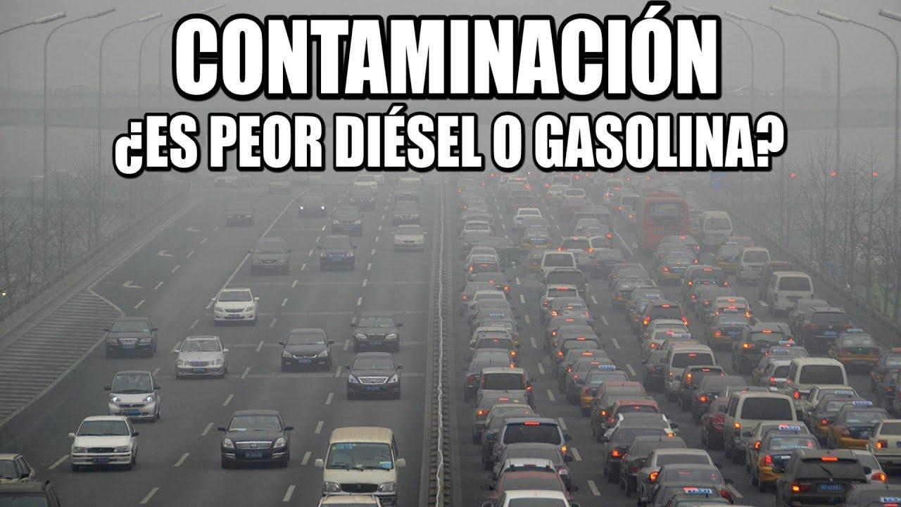 Hay estudios que dicen que los modernos motores diesel contaminan menos que los de gasolina
