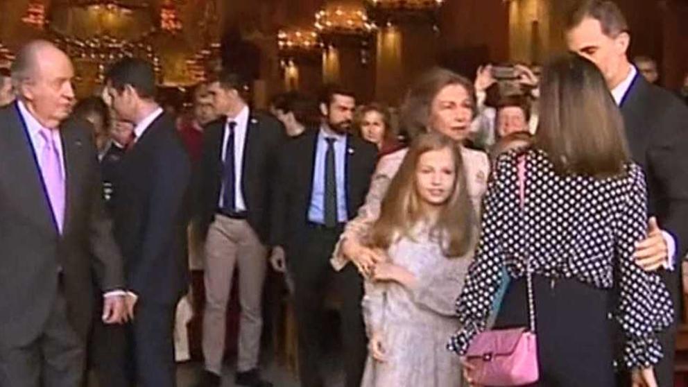 Carta a la niña Leonor Borbón, infanta de España