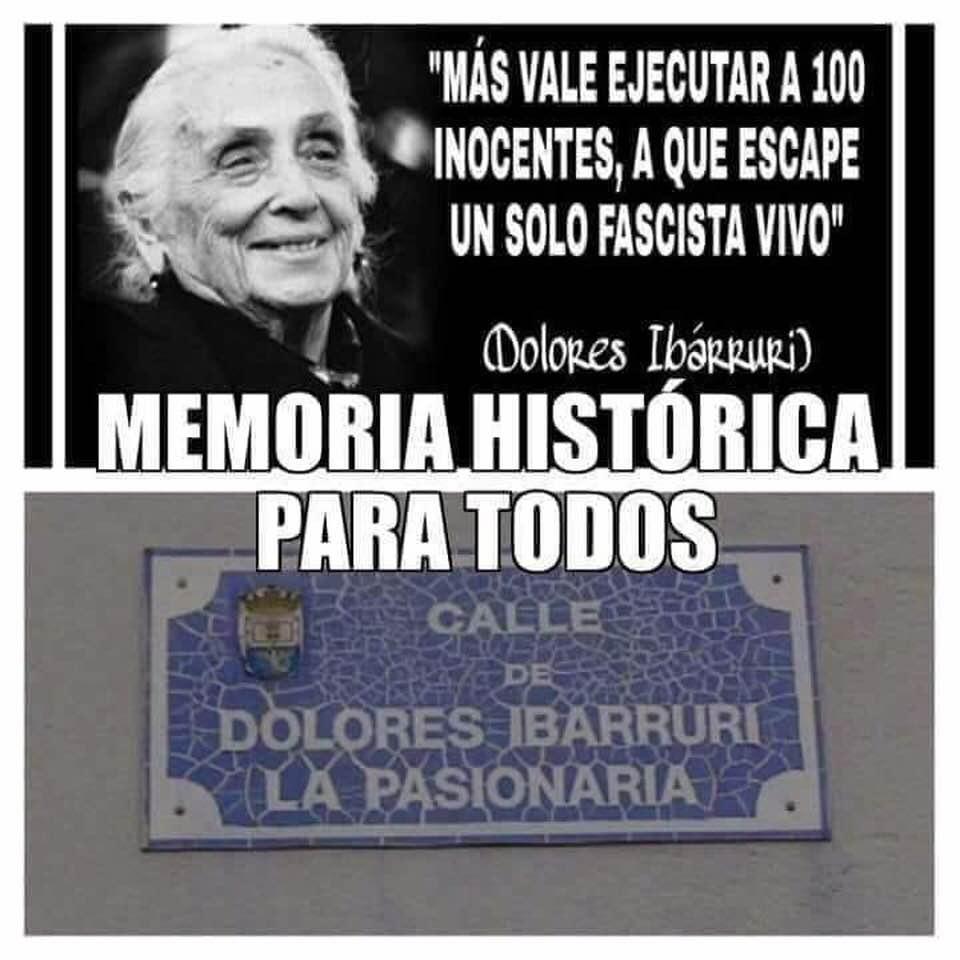 Estos asesinos rojos sí tienen calles y plazas en España. Vergonzoso y abusivo.