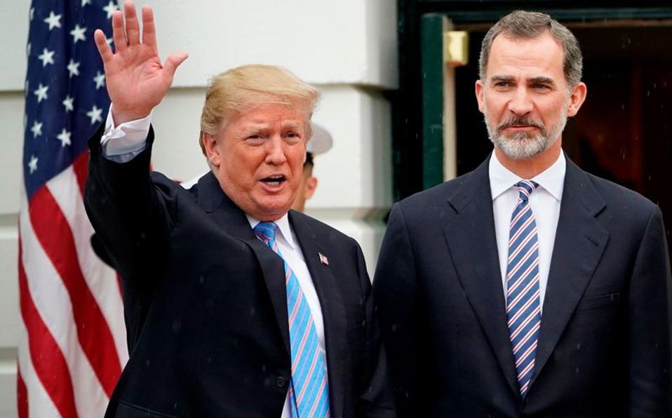 Trump, indignado con el gobierno  peligroso de Sanchez e Iglesias, quiere impedir que España caiga en las garras del comunismo