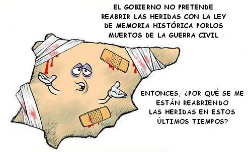La verdad sobre la Memoria Histórica, la política más rastrera y errónea de la España actual