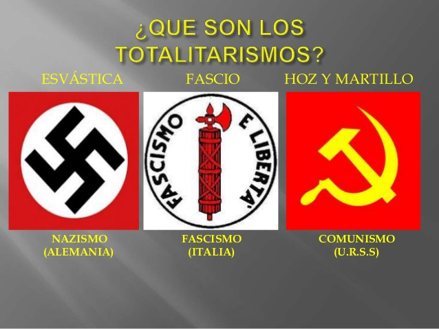 SIMILITUDES INQUIETANTES ENTRE NAZIS, FASCISTAS Y COMUNISTAS