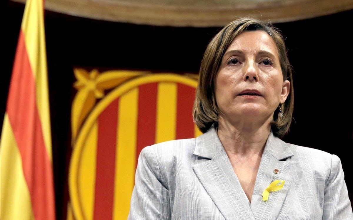 Carmen Forcadell, la rebelde y dura independentista catalana que se creía impune