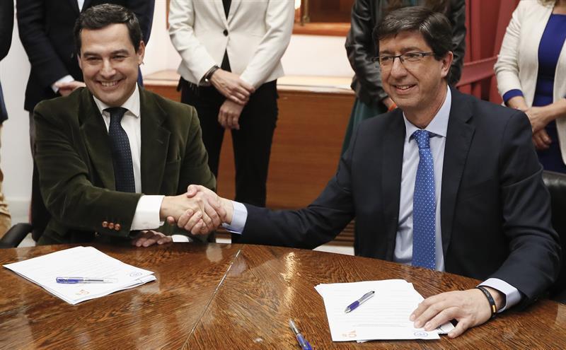 Dificultades crecientes para los que ahora gobiernan Andalucía