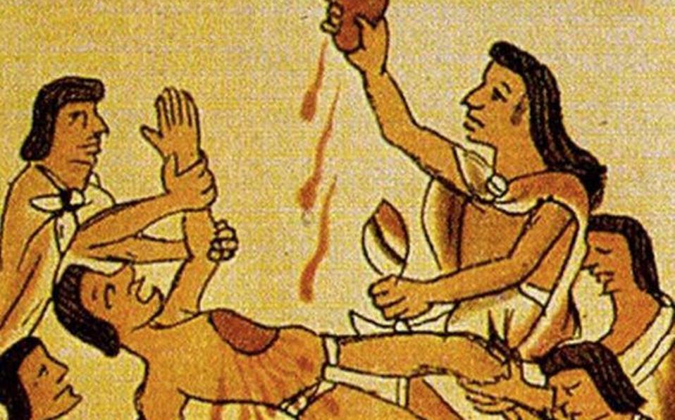 Sacrificios humanos en la América precolombina