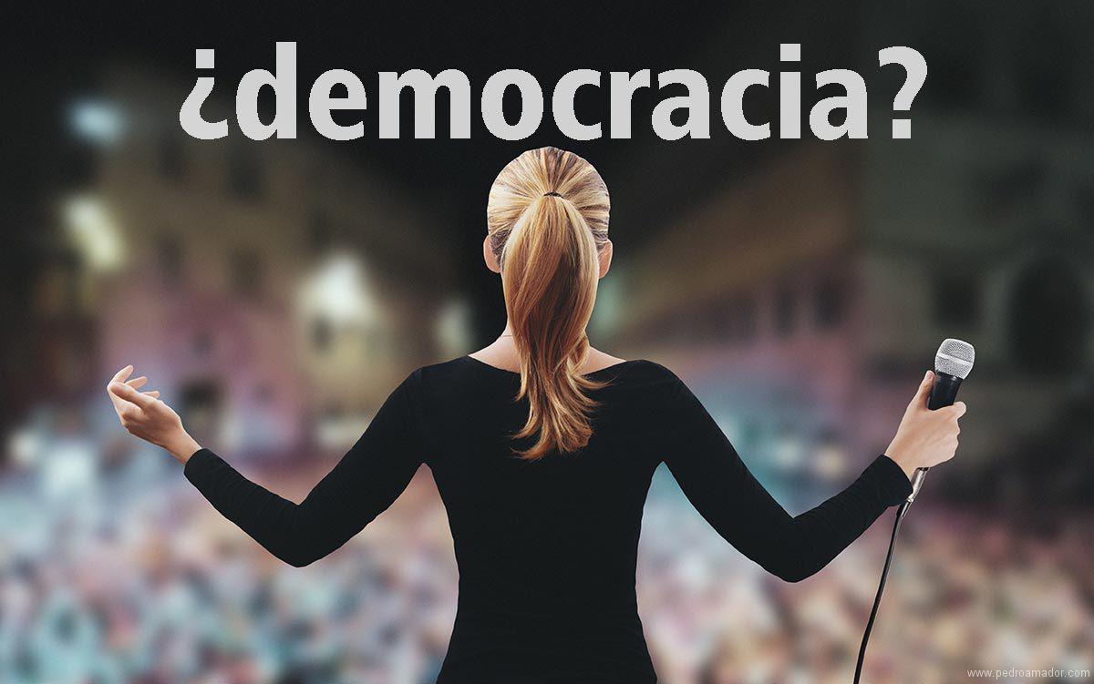 Están asesinando la democracia