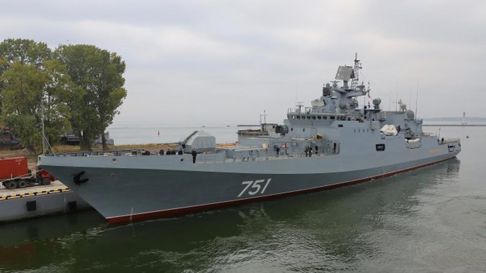 Flota rusa en Ceuta
