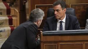 Sanchez y Marlaska, los dos máximos responsables, junto con Puigdemont y Torra, del actual drama catalán y de la postración de España