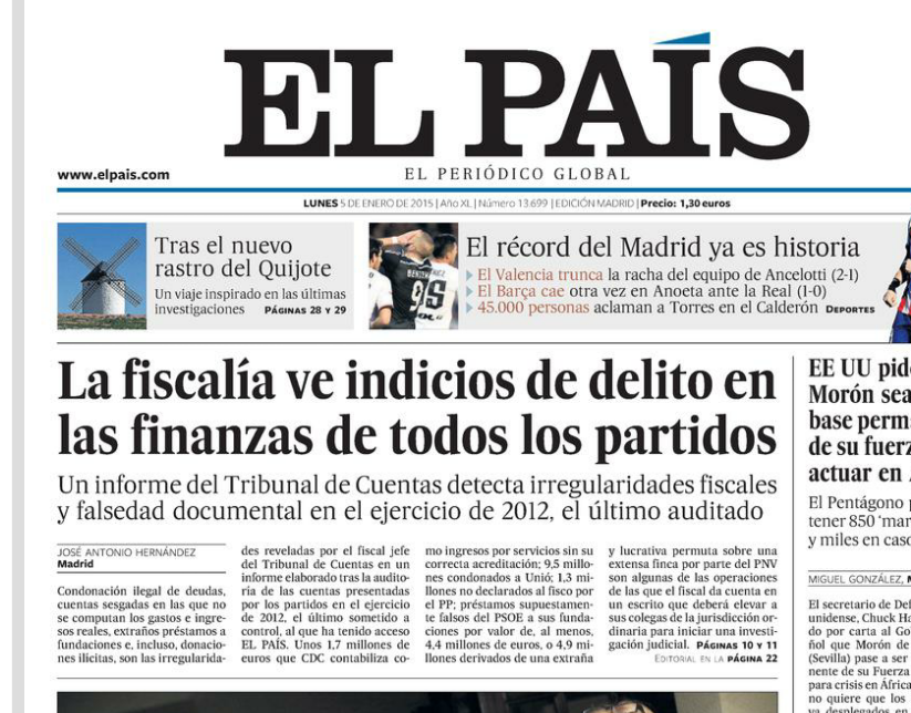 ESPAÑA SE DESMORONA Y EL GOBIERNO LO OCULTA