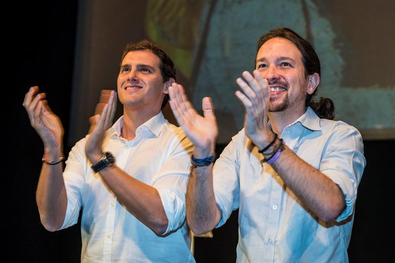 El fracaso y la torpeza de Podemos y Ciudadanos
