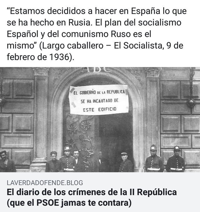 El PSOE nació depredador y con Sánchez está regresando a sus brutales orígenes