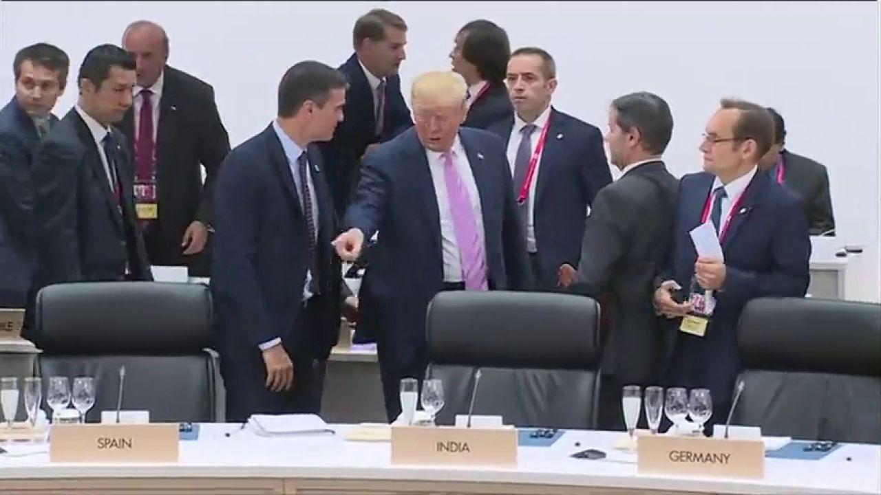 """Gesto duro de Trump. La """"maldición"""" del imperio puede que ya la tenga"""