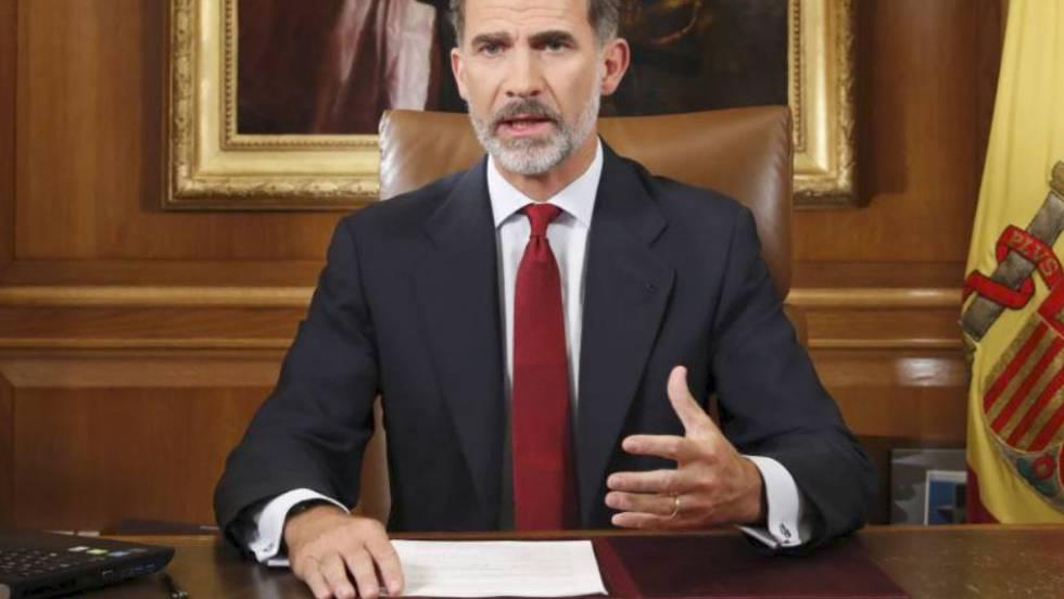 El rey pronunció su famoso discurso del 3 de octubre de 2017 porque España lo necesitaba, en contra de la opinión de Rajoy