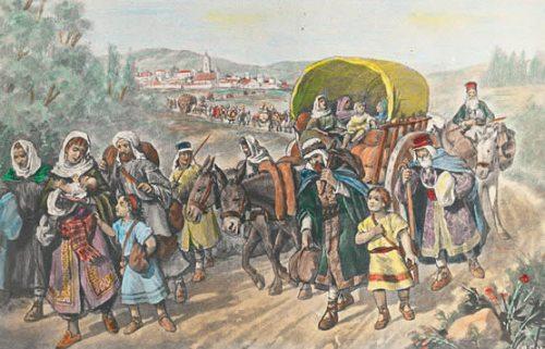 Imagen de la dura expulsión de los judíos españoles