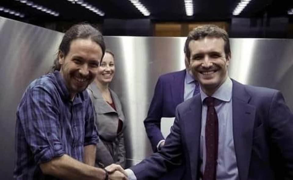 La derecha y la izquierda en España se parecen como dos gotas de agua