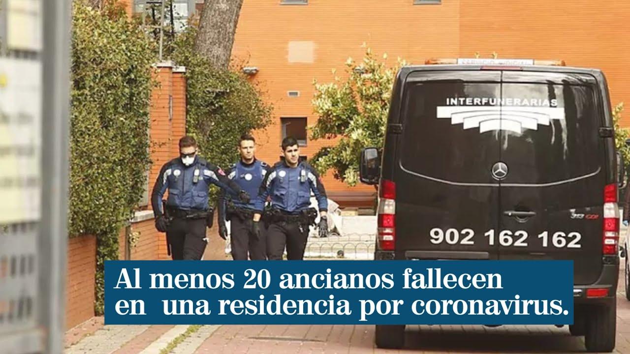 Una de las cientos de imágenes sobrecogedoras e indignantes sobre muerte de ancianos que España ha tenido que digerir