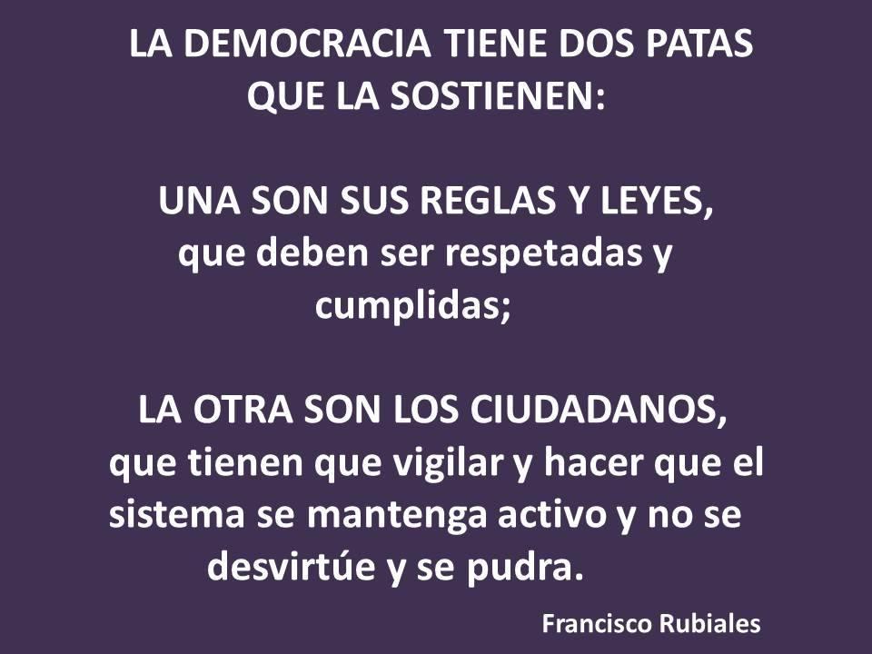 DEMOCRACIA DEFICIENTE