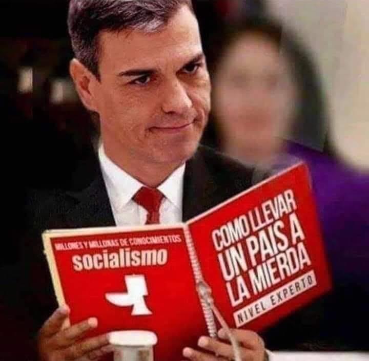 Una de las muchas imágenes críticas contra la ineficacia del gobierno que circulan por la redes sociales españolas