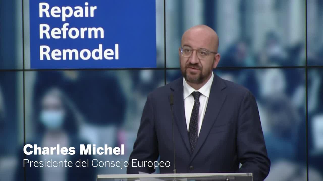 El belga Charles Michel es el actual presidente del Consejo Europeo