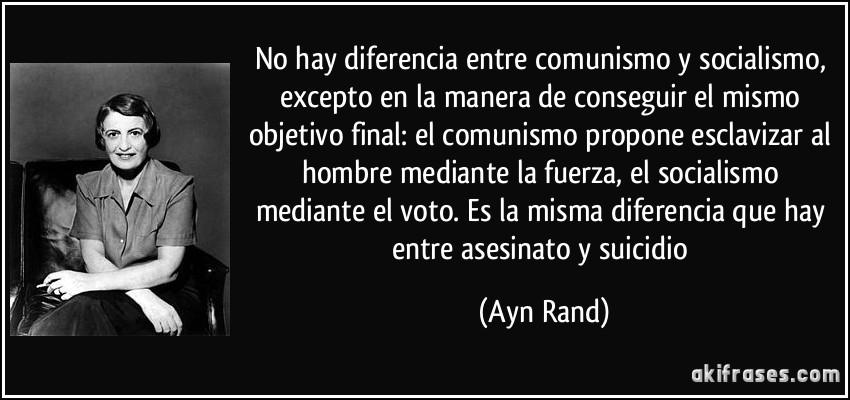 EL COMUNISMO Y EL SOCIALISMO SON SÓLO NEGOCIOS