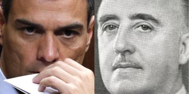 """La lucha de los españoles contra dos sátrapas: """"Contra Franco"""" y """"contra Sánchez"""""""