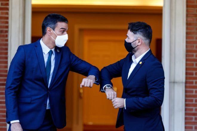 Dos empeñados en destruir España