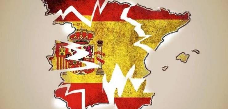 Nuestros insensatos dirigentes están consiguiendo partir España