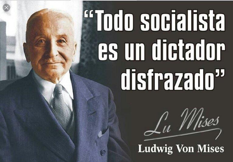 Socialismo y democracia son incompatibles, lo mismo que socialismo y libertad