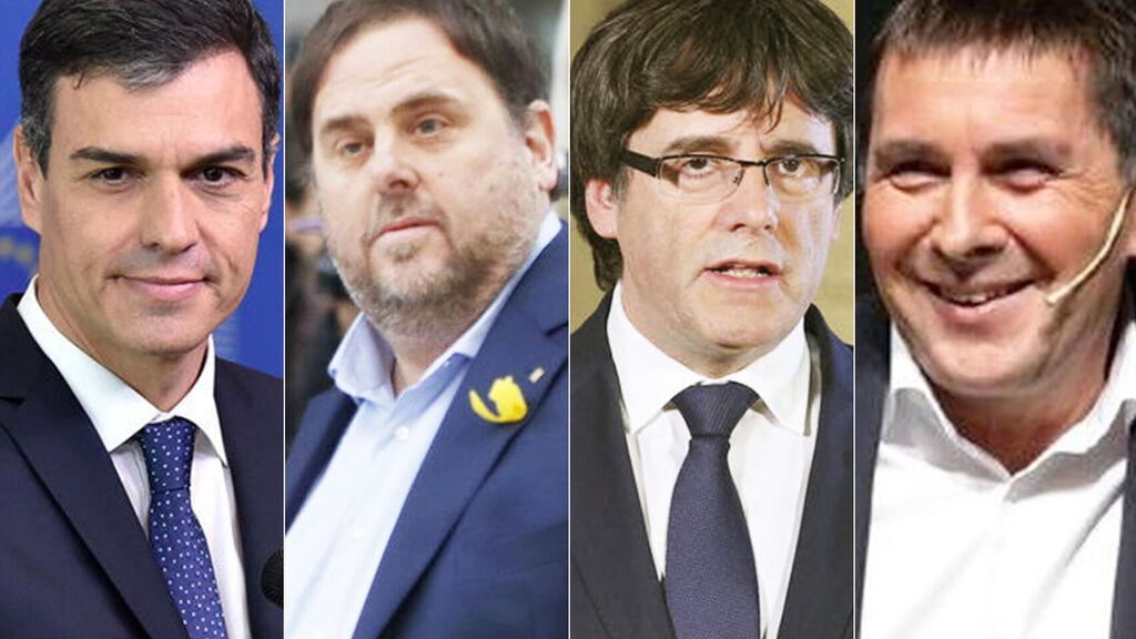"""Los """"aliados"""" de Sánchez provocan arcadas a millones de españoles, que culpan al """"sanchismo"""" del actual hundimiento de España"""